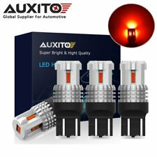 AUXITO 7443 7440 T20 Red LED Turn Signal Brake Tail Stop Indicator Light Bulb