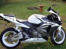 For HONDA Fairing Kit CBR600RR CBR 600RR F5 2003 2004 ABS Injection Black &White
