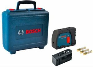 BOSCH GPL2 2-Point Self Leveling Professional Laser Level/Plumb GPL-2 +CASE NEW