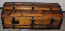 Superbe malle ancienne XIXème siècle restaurée