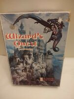 WIZARD'S QUEST 1979 AVALON HILL BOOKCASE GAME COMPLETE FANTASY WAR GAME