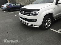 To Fit 2016+ Volkswagen Tiguan Smoked / Tinted Acrylic Hood Bonnet Guard Shield