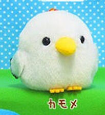 Kotori Tai Fluffy Birds 3'' Kamome Seagull Amuse Prize Plush Key Chain NEW
