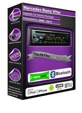 Mercedes Vito DAB radio, Pioneer car stereo CD USB AUX in player, Bluetooth kit