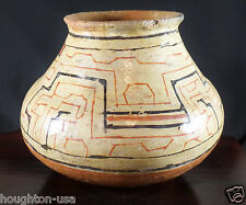 Antique Shipibo Polychrome Healing Bowl (Olla) from Amazon Rainforests of Peru