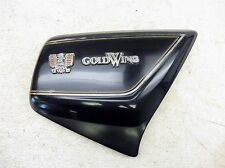 1981 Honda Goldwing GL1100 H1399. right side cover with emblems