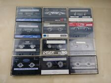 Lot of 11 Used Blank Type II Cassette Tapes 1 Metal Type IV TDK BASF Sony