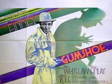 GUMSHOE 1971 Albert Finney Billie Whitelaw Frank Finlay UK QUAD POSTER