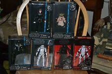 Star Wars The Black Series-Luke-Yoda-Darth Vader-Kylo Ken-2Stormtrooper 6-Inch