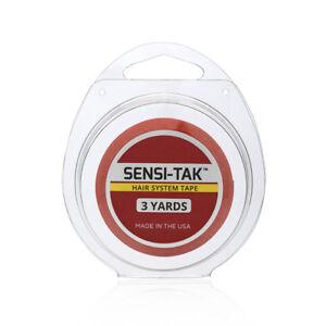 Walker Tape Sensi-Tak Red Wig Hair System Tape 3 Yards x 3/4 Inch