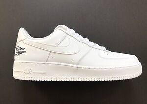 Nike Air Force 1 '07 LV8 Low Drew League Triple White Shoes CZ4272-100 Size 13