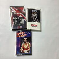 Cassette Tapes Eric Clapton Five Long Years Cream Goodbye Yardbirds British Rock