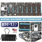 USA BTC-S37 ETC Miner Motherboard 8 GPUs 8 PCIE Graphics Card USA