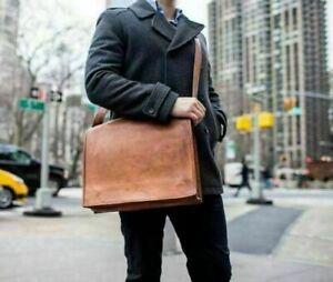 Messenger Shoulder Men Satchel Laptop School Briefcase Bag