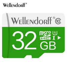 Wellendorf Class 10 Micro SD 32GB Fast Data Transfer with free Card Adapter