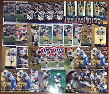 (35) MARSHALL FAULK MIXED FOOTBALL CARD LOT WITH INSERTS + PARALLELS