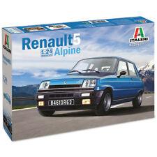 Italeri Renault 5 Alpine Model Set (Scale 1:24) - 3651 - NEW
