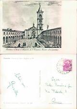 CAMERINO - PIAZZA E CHIESA COLLEGGIATA DI S. VENANZIO   (rif.fg.13510)