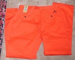 NEW NCAA Oregon St State Beavers Dockers Casual Dress Pants Orange 36 X 30 Men