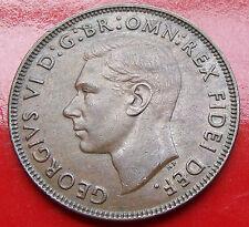 Golden Sandy Brown 1952  Australia Penny,  Nice original penny, King George VI.
