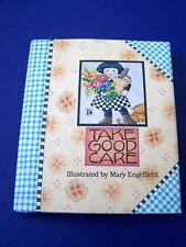 New Vintage 1993 Mary Engelbreit Take Good Care Mini Gift Book Get Well Hc/ Dj