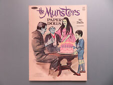 Vintage Original 1966 The Munsters Paper Dolls #1959 Whitman Used Cut*