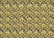MINION Stickerbomb Hoja 2.4m X 1.22m (VW/Caricatura/kidssticker/Abrigo/Car Stickers)