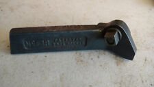 """New listing Vintage Armstrong No 31-R Lathe Cutting Cutter Turning Tool Holder 1.11""""x1/2"""""""
