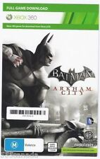 Batman Arkham City - Full Game Download Code Xbox 360 Card - REGION FREE