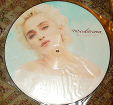 """MADONNA LOOK OF LOVE PICTURE DISC 12"""" VINYL LOVE DON'T LIVE I KNOW IT 45giri/rpm"""
