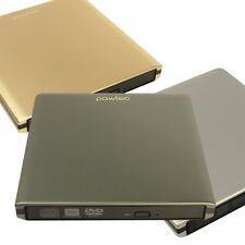 External Slim USB 3.0 Aluminum 8X DVD +- Writer Burner Windows 7 10 or MAC