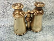 1870's CARPENTER & WESTLEY SIGNED VICTORIAN BRASS GALILEAN FIELD GLASSES