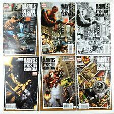 Marvel Eye of the Camera 1 2 3 4 & 6 Marvel Comic Book Lot February 2009 Variant