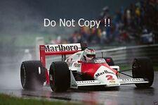 Stefan Johansson McLaren MP4/3 austríaco Grand Prix 1987 fotografía
