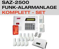 Funk Alarmanlage Komplettset GSM Anruf Fernbedienung Tür Fenster Kontakte PIR
