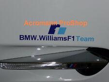 "2x 6"" 15.2cm BMW F1 Williams decal sticker Team M6 M5 M4 M3 M coupe Z4 formula 1"