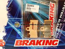 PER KTM DUKE 390 2013 13 PASTIGLIE ANTERIORE SINTERIZZATE FRENO BRAKING CM55 SPO
