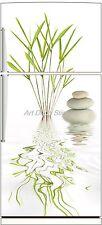 Sticker frigo bambou galet 70x170cm réf 512