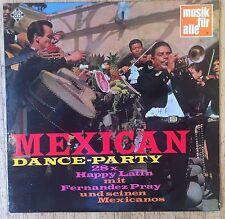FERNANDEZ PRAY & SEINE MEXICANOS Mexican Dance-Party LP/GER