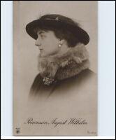 Adel Monarchie ~1915 Kronprinzessin Prinzessin Princess AUGUST WILHELM mit Hut