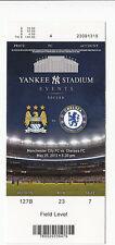 2013 MANCHESTER CITY VS CHELSEA FC FULL TICKET STUB YANKEE STADIUM 5/25 SOCCER