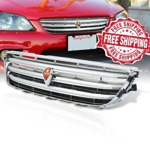 For 98 05 Lexus IS300 JDM Front Grille Altezza Chrome Grill With Red Emblem