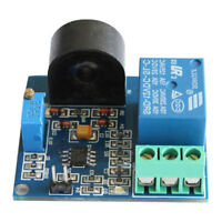 (Working DC12V) 5A AC Current Sensor Module Detection Module Switch Output Hot