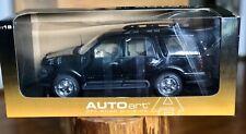 Auto Art Lincoln Navigator `AUTOart autoartmodels.com 1:18 Black