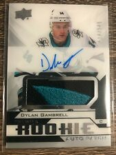 Dylan Gambrell 2018-19 Premier Rookie Auto Patch #014/249 1/1 Jersey Number