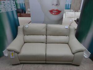BRAND NEW Triumph POLO DIVANI Citi Degas DEGANO Reclining Leather sofa Taupe
