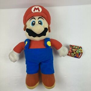 "Nintendo Super Mario KellyToy Mario 12"" Plush Doll Toy 2003 With Original Tag"