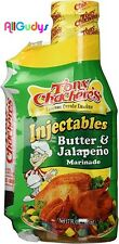 Tony Charchere's Injectables Butter & Jalapeno Marinade 17oz Exp:Jan19,2019