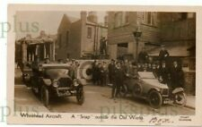 More details for old postcard whitehead aircraft works richmond surrey note motor cars real photo