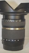 Tamron SP 10-24 mm 1:3.5-4.5 Di-II LD Aspherical IF Objektiv für Canon